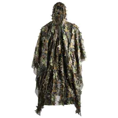 Poncho camouflage 3D Realtree / costume de camouflage sniper (taille unique) | Paintball Sports