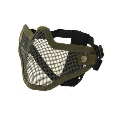 Masque pour le visage COD Paintball / Airsoft (olive) | Paintball Sports