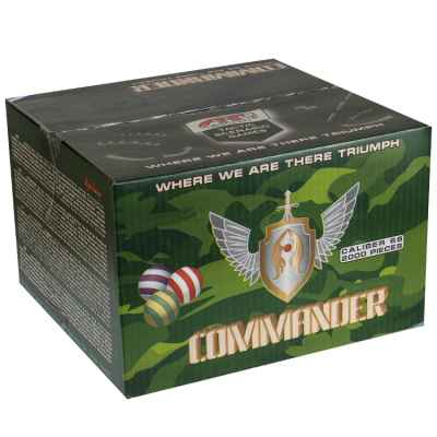 Artlife Commander Paintballs tactique (2000 pcs) | Paintball Sports