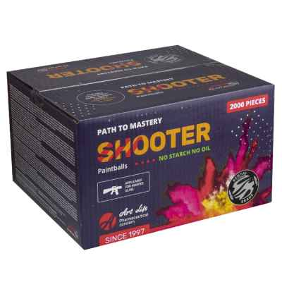 Artlife Shooter Training Paintballs (boîte de 2000 pièces) | Paintball Sports