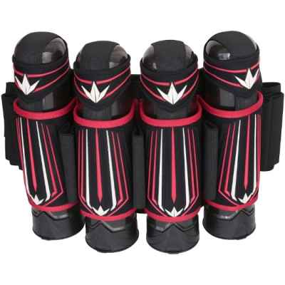 Bunker Kings Supreme V3 Paintball Battlepack 4 + 5 (rouge / blanc) | Paintball Sports