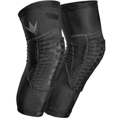 Bunkerkings Fly Compression genouillères (noir) | Paintball Sports