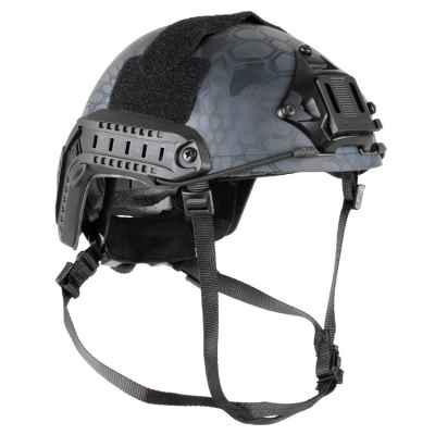 Casque DELTA SIX Tactical FAST MH pour paintball / airsoft (Black Kryptec)   Paintball Sports