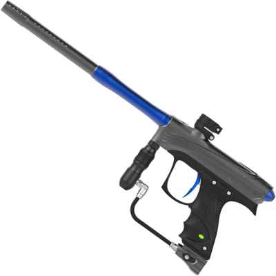 DYE Rize CZR Paintball Marqueur (Gris / Bleu) | Paintball Sports