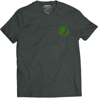 DYE T-Shirt ICON (gris foncé / vert) | Paintball Sports