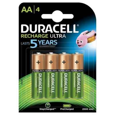 Batterie de paintball Duracell Supreme 1,2 Volt avec 2450 mAh (paquet de 4) | Paintball Sports