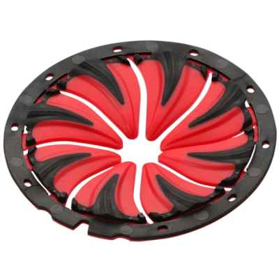DYE Rotor Paintball Hopper Alimentation Rapide (rouge) | Paintball Sports