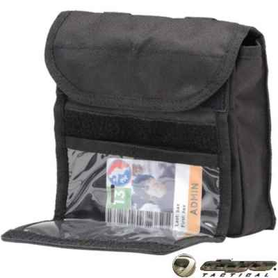 Dye Tactical Admin ID Sac Molle 2.0 (Noir) | Paintball Sports