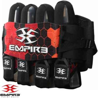 Empire Compressor FT Paintball Battlepack 4 + 7 (rouge) | Paintball Sports