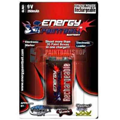 Batterie Energy Paintball Bloc 9 Volts | Paintball Sports