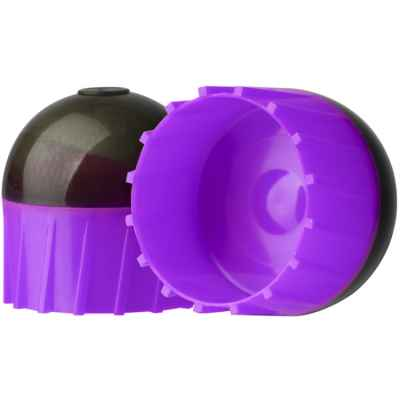 Tiberius Arms First Strike Paintballs dans un tube de 10 (gris foncé / violet) | Paintball Sports