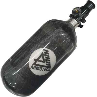 ARMOTECH Supralite DEAL - 1.1L HP System 300 Bar (bouteille + régulateur DSG) | Paintball Sports