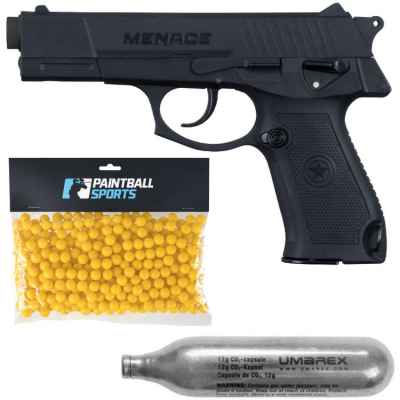 Pack de joueurs de paintball GI Sportz Menace (noir) | Paintball Sports
