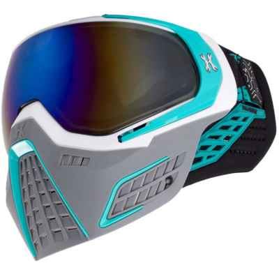Masque de paintball HL Army KLR (SLATE Blanc / Turquoise)   Paintball Sports