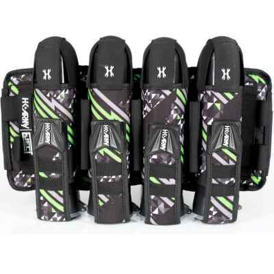 HK Army Eject 4 + 3 + 4 Paintball Battlepack (vert fluo énergie)   Paintball Sports