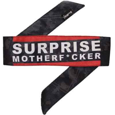 HPS Paintball Head Band (Surprise Motherf*cker) | Paintball Sports