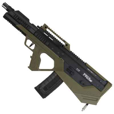Marqueur de paintball Maxtact TGRone Bullpup (noir / olive) | Paintball Sports