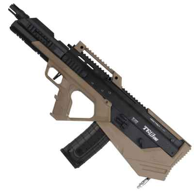 Marqueur de paintball Maxtact TGRone Bullpup (noir / beige) | Paintball Sports