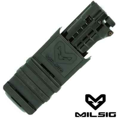 Support Milsig Fazmag pour Tiberius Arms Magazine (Noir) | Paintball Sports