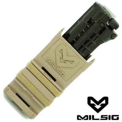 Support Milsig Fazmag pour Tiberius Arms Magazine (désert) | Paintball Sports