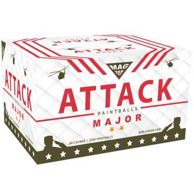 Nouveau box Légion Attack Major Magfed Paintballs des années 2000 | Paintball Sports