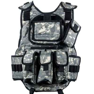 Paintball Tactical Vest 6 + 1 (Camo ACU numérique) | Paintball Sports