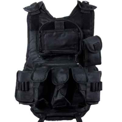 Gilet tactique de paintball 6 + 1 (noir) | Paintball Sports
