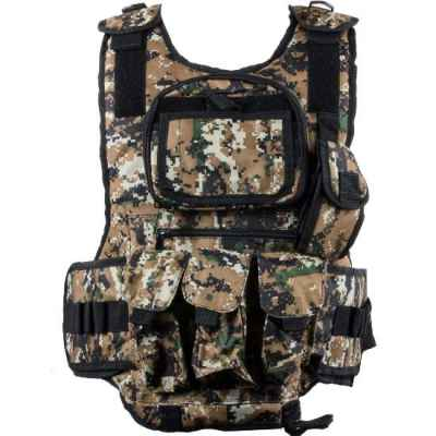 Paintball Tactical Vest 6 + 1 (Digital-Woodland) | Paintball Sports