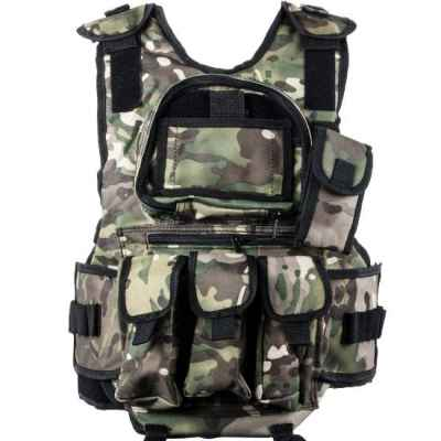 Veste Paintball Tactical 6 + 1 (Multicam Tarn) | Paintball Sports