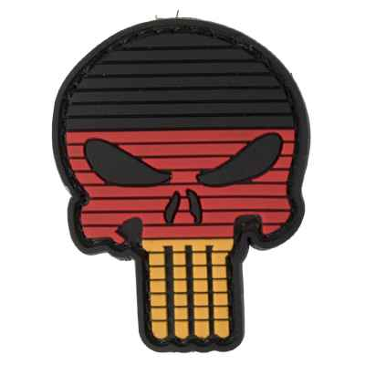 Patch Velcro en PVC pour Paintball / Airsoft (Skull Germany) | Paintball Sports