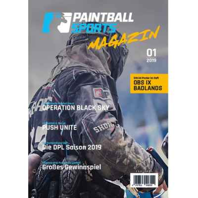 Paintball Sports Magazine - Le magazine client Paintball Sports (numéro 01/2019) | Paintball Sports