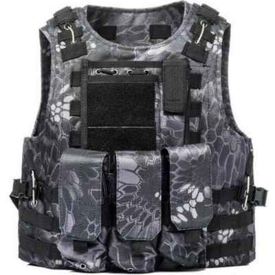 Gilet tactique Molle Paintball avec poches (Kryptec Urban Camo) | Paintball Sports
