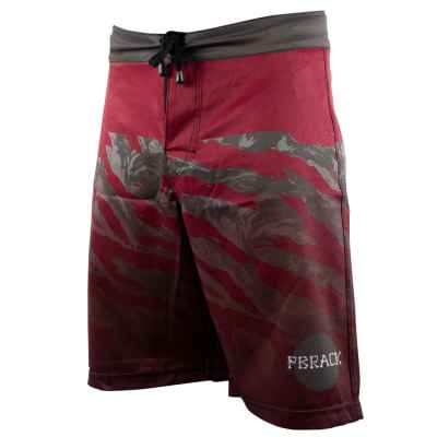 Short de Conseil Pbrack (Camo Bordeaux / Gris) | Paintball Sports
