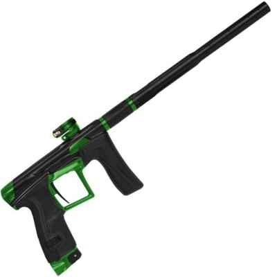 Marqueur de paintball Planet Eclipse GEO4 Emerald (noir / vert) | Paintball Sports