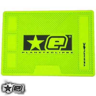 Tapis Tech Paintball Planet Eclipse (vert, caoutchouc) | Paintball Sports