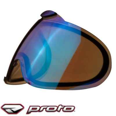Verre masqué thermique Paintball Proto Switch EL (glace bleue) | Paintball Sports