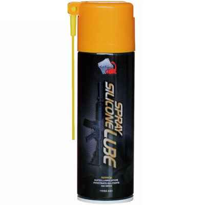 Graisse silicone en spray / spray PuffDino pour marqueurs paintball et airsoft (220 ml) | Paintball Sports