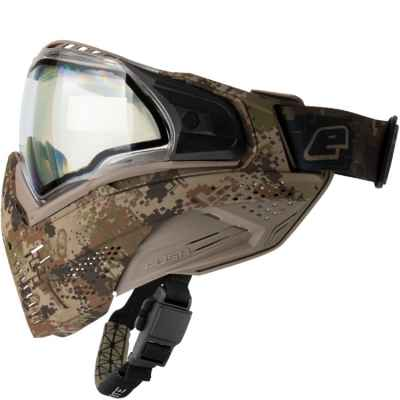 Masque de paintball Push Unite (Planet Eclipse HDE Earth Camo - Clair) | Paintball Sports