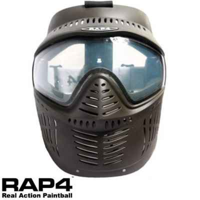 Masque thermique RAP4 Hawkeye Paintball (noir) | Paintball Sports