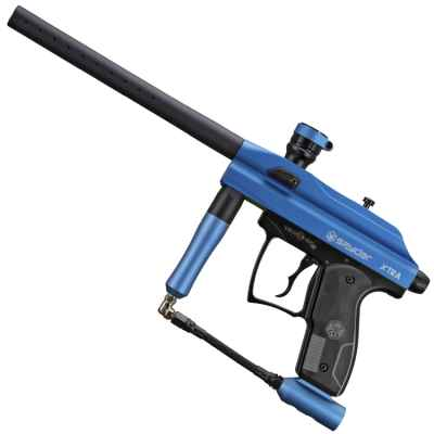 Marqueur de paintball Kingmann Spyder Xtra (bleu) | Paintball Sports