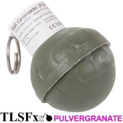 Grenade à poudre TLSFx Paintball / Airsoft avec fusible détachable | Paintball Sports