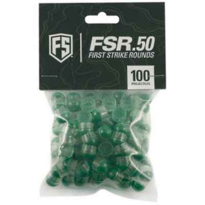 Tiberius Arms First Strike Paintball Cal.50 100 coups (clair / vert)   Paintball Sports