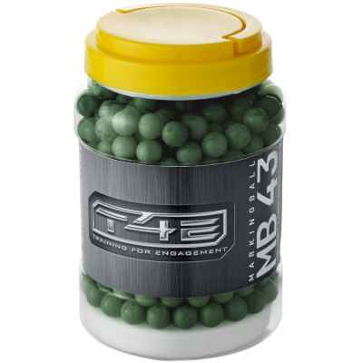 Umarex MB 43 Cal. 43 billes de marquage (500 verres) | Paintball Sports