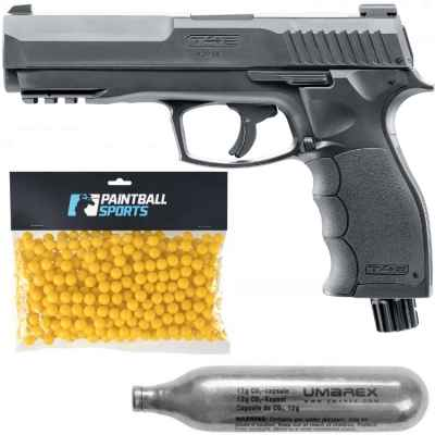 Umarex T4E HDP 50 Pack de joueurs de pistolet de paintball (noir) | Paintball Sports