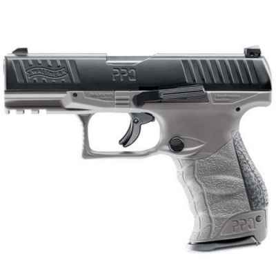 Pistolet de paintball Walther PPQ M2 T4E RAM (Cal. 43) - Gris tungstène | Paintball Sports