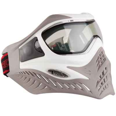 Masque thermique de paintball V-Force Grill Edition Ltd (blanc / taupe) | Paintball Sports
