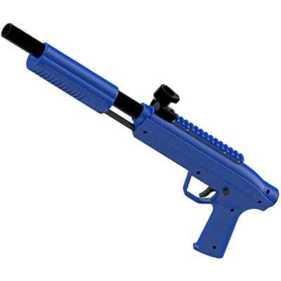 Valken Gotcha Shotgun Cal. 50 marqueurs de paintball pour enfants (0,5 Joule) - bleu | Paintball Sports