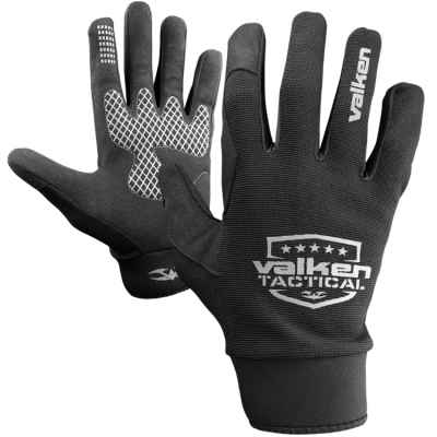 Gants de paintball Valken Tactical Sierra II (noir) | Paintball Sports