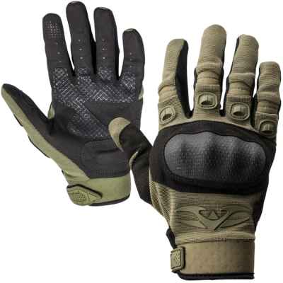 Gants de paintball tactiques Valken Zulu (olive) | Paintball Sports