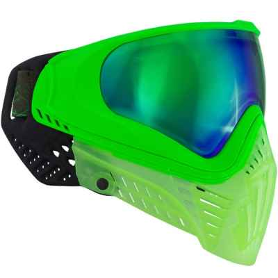 Masque de paintball Virtue VIO XS (Crystal Emerald) | Paintball Sports